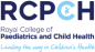 Logo: The Royal College of Paediatrics and Child Health